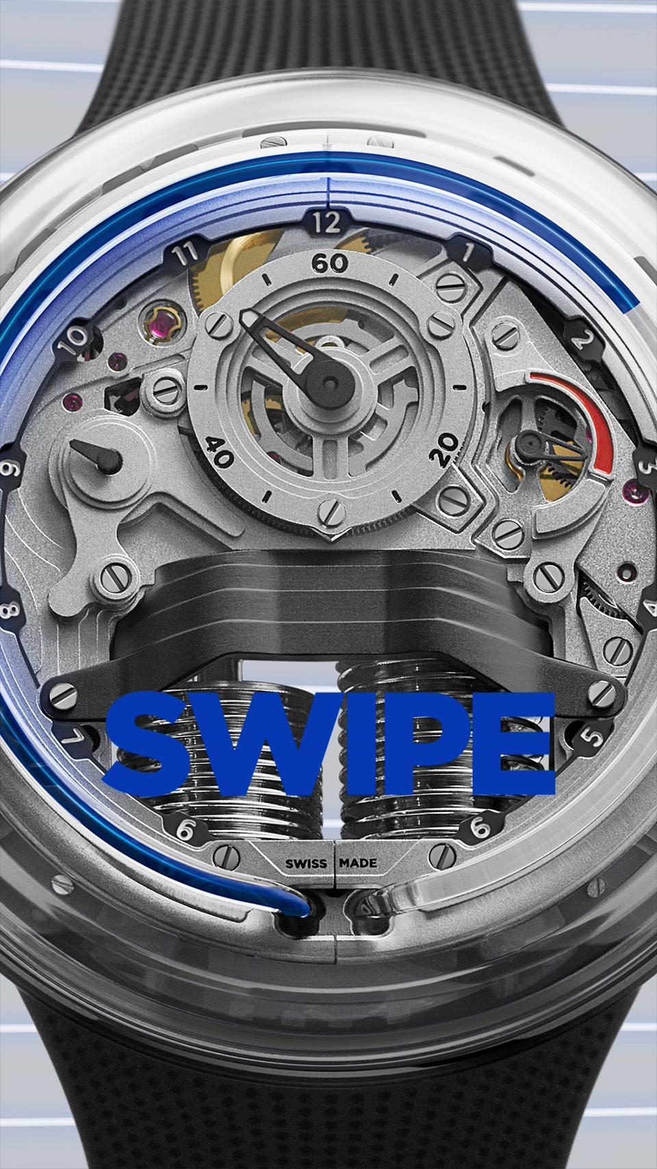 HYT - H5 BlueFluid STORY SWIPE