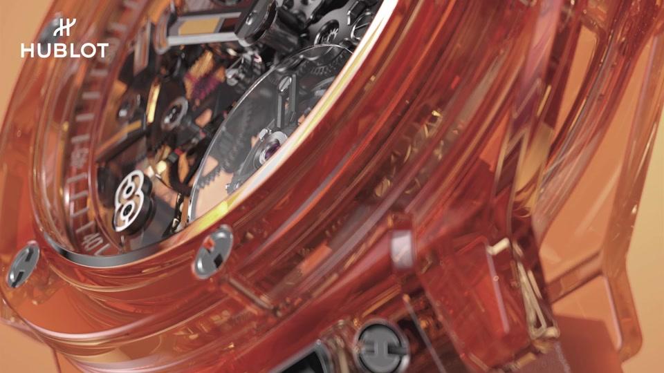 BIG BANG TOURBILLON AUTOMATIC ORANGE SAPPHIRE HEADER