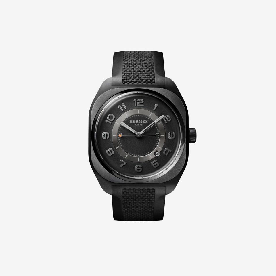GIF Hermès H08 Graphene Black Rubber