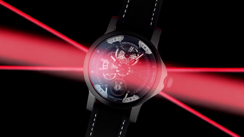 Video Chronoswiss SkelTec Azur CH-3718-BKBLB