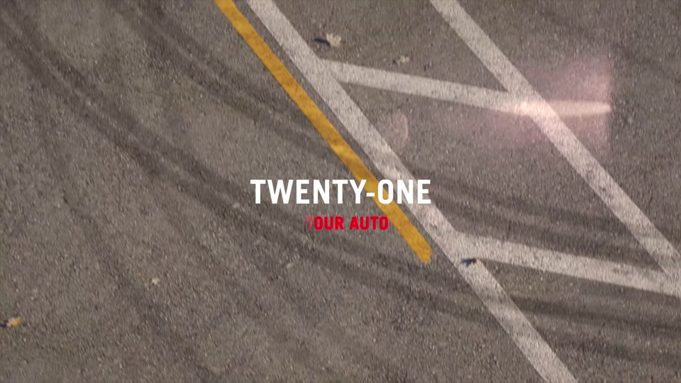 Twenty-One Tour Auto Video