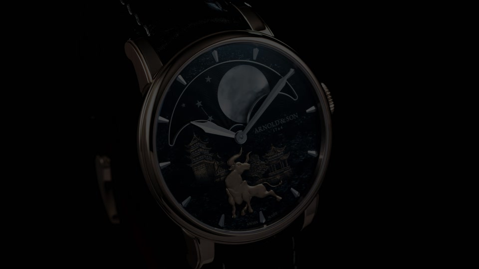 """A&S Perpetual Moon """"Year of the Ox"""""""