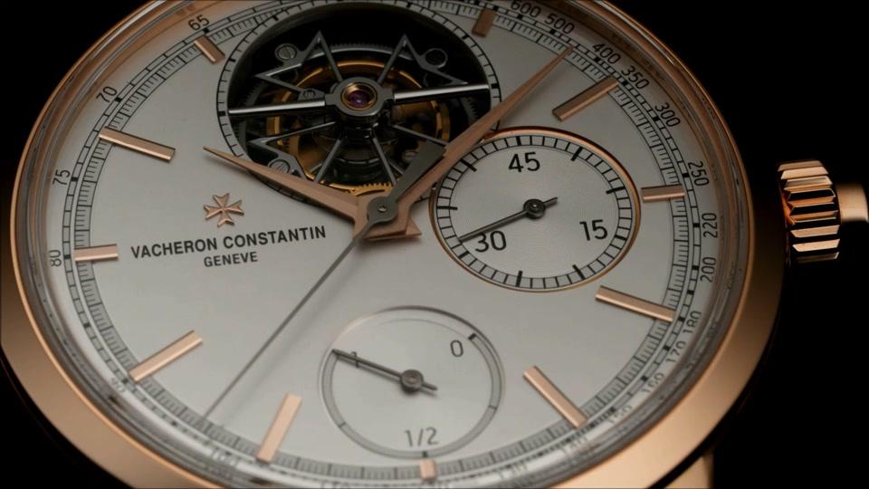 vacheron constantin : traditionnelle tourbillon chronograph