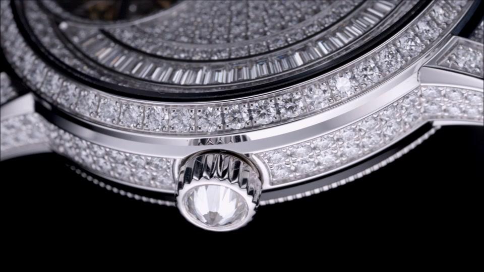 vacheron constantin : traditionnelle tourbillon jewellery