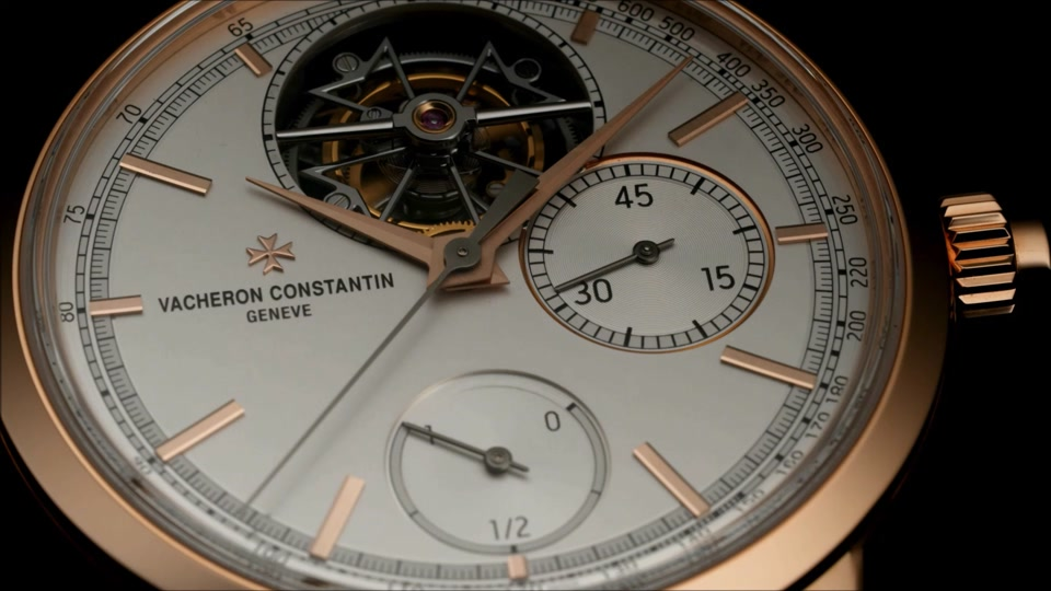 vacheron constantin : traditionnelle tourbillon chronograph