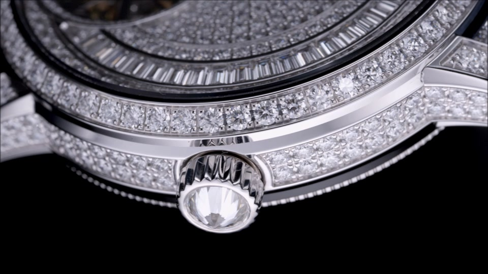 vacheron constantin : traditionnelle tourbillon jewellery